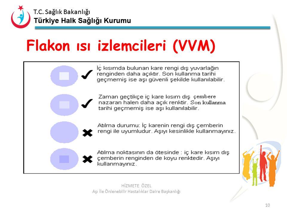 T.C. Sağlık Bakanlığı Türkiye Halk Sağlığı Kurumu T.C. Sağlık Bakanlığı Türkiye Halk Sağlığı Kurumu 10 HİZMETE ÖZEL Aşı İle Önlenebilir Hastalıklar Da