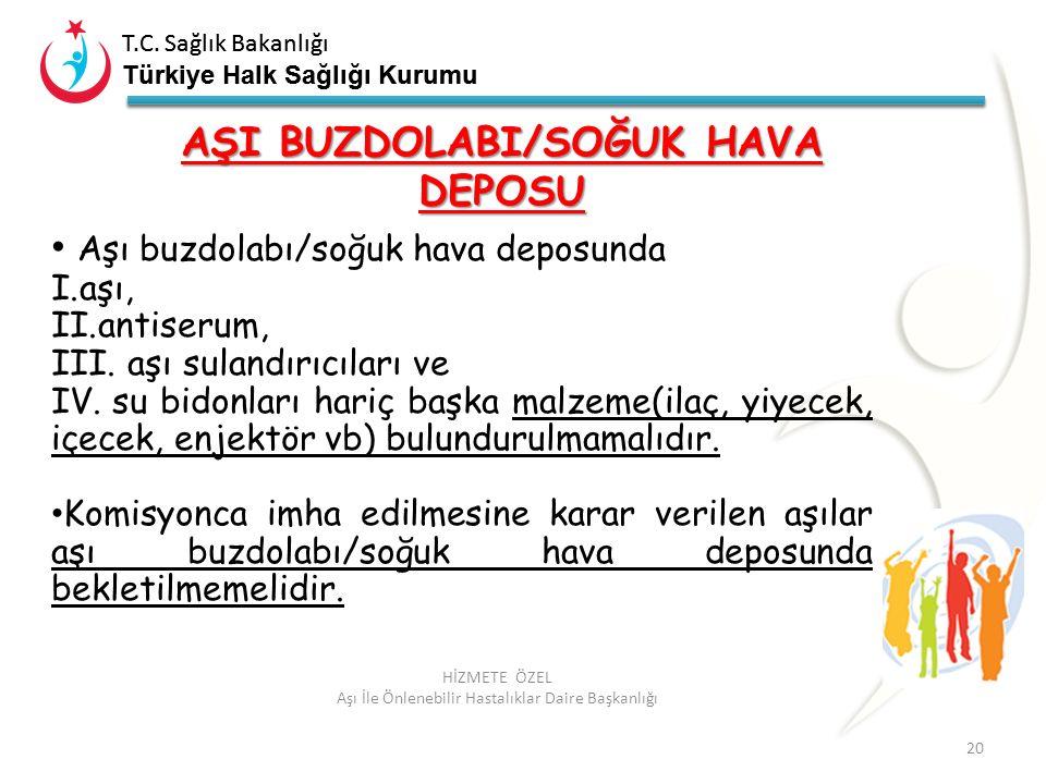 T.C. Sağlık Bakanlığı Türkiye Halk Sağlığı Kurumu T.C. Sağlık Bakanlığı Türkiye Halk Sağlığı Kurumu 20 HİZMETE ÖZEL Aşı İle Önlenebilir Hastalıklar Da