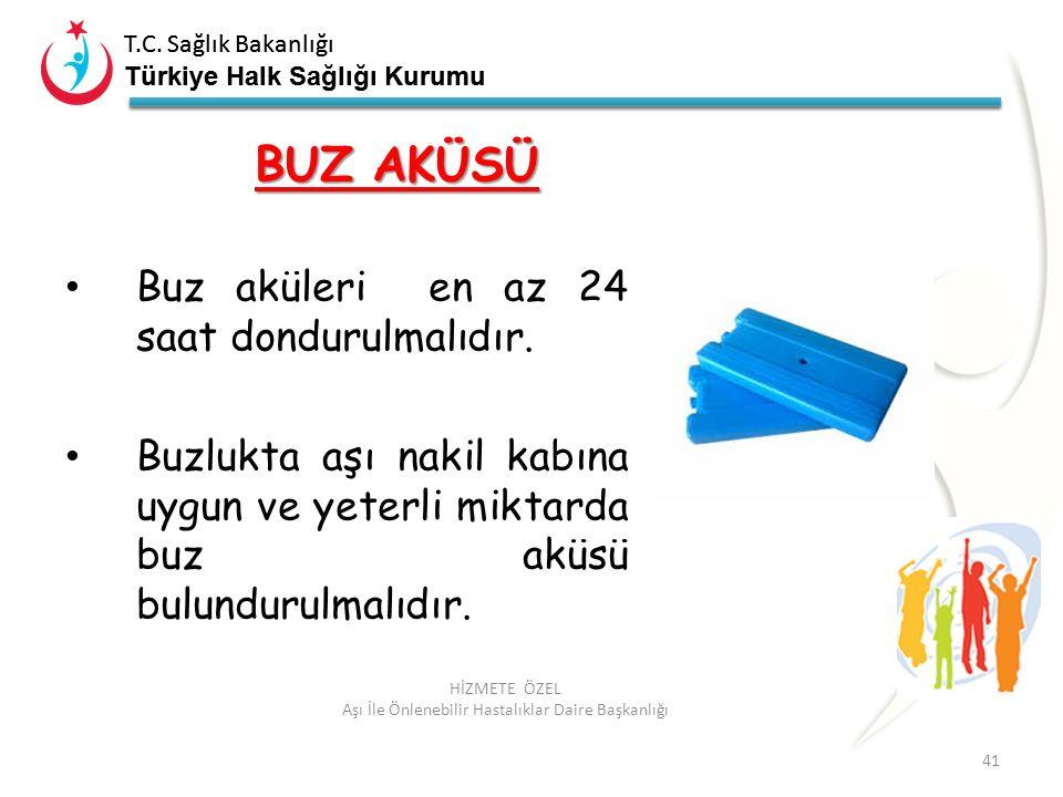 T.C. Sağlık Bakanlığı Türkiye Halk Sağlığı Kurumu T.C. Sağlık Bakanlığı Türkiye Halk Sağlığı Kurumu 41 HİZMETE ÖZEL Aşı İle Önlenebilir Hastalıklar Da