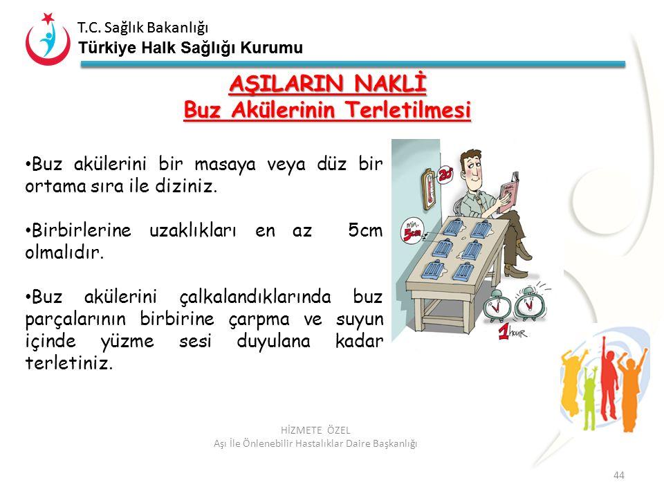 T.C. Sağlık Bakanlığı Türkiye Halk Sağlığı Kurumu T.C. Sağlık Bakanlığı Türkiye Halk Sağlığı Kurumu 44 HİZMETE ÖZEL Aşı İle Önlenebilir Hastalıklar Da