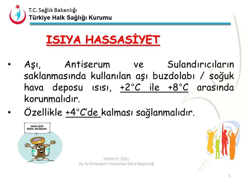 T.C. Sağlık Bakanlığı Türkiye Halk Sağlığı Kurumu T.C. Sağlık Bakanlığı Türkiye Halk Sağlığı Kurumu 5 HİZMETE ÖZEL Aşı İle Önlenebilir Hastalıklar Dai