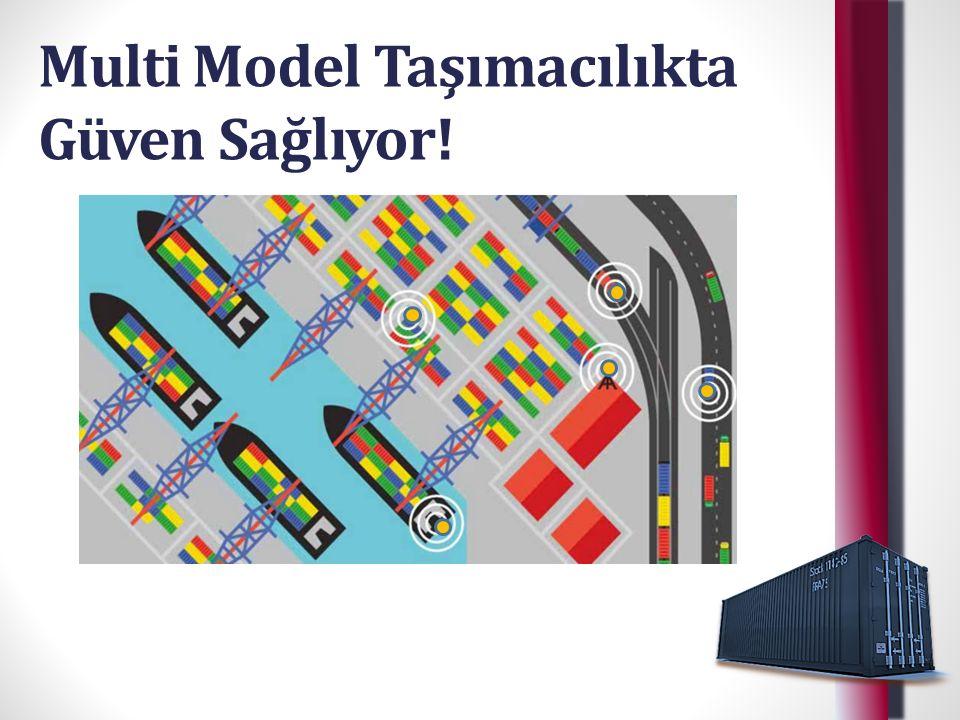 Multi Model Taşımacılıkta Güven Sağlıyor!