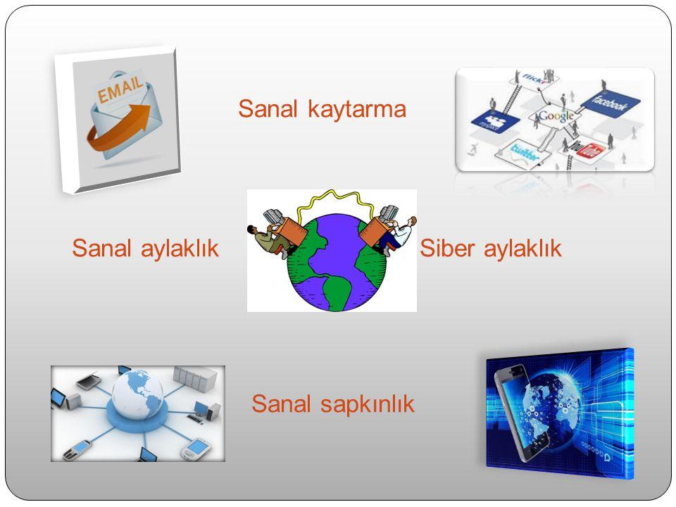 SANAL KAYTARMA ETKİNLİKLERİ & DAVRANIŞLARI SANAL KAYTARMA ÖLÇEĞİ (LİM, 2002) 1.