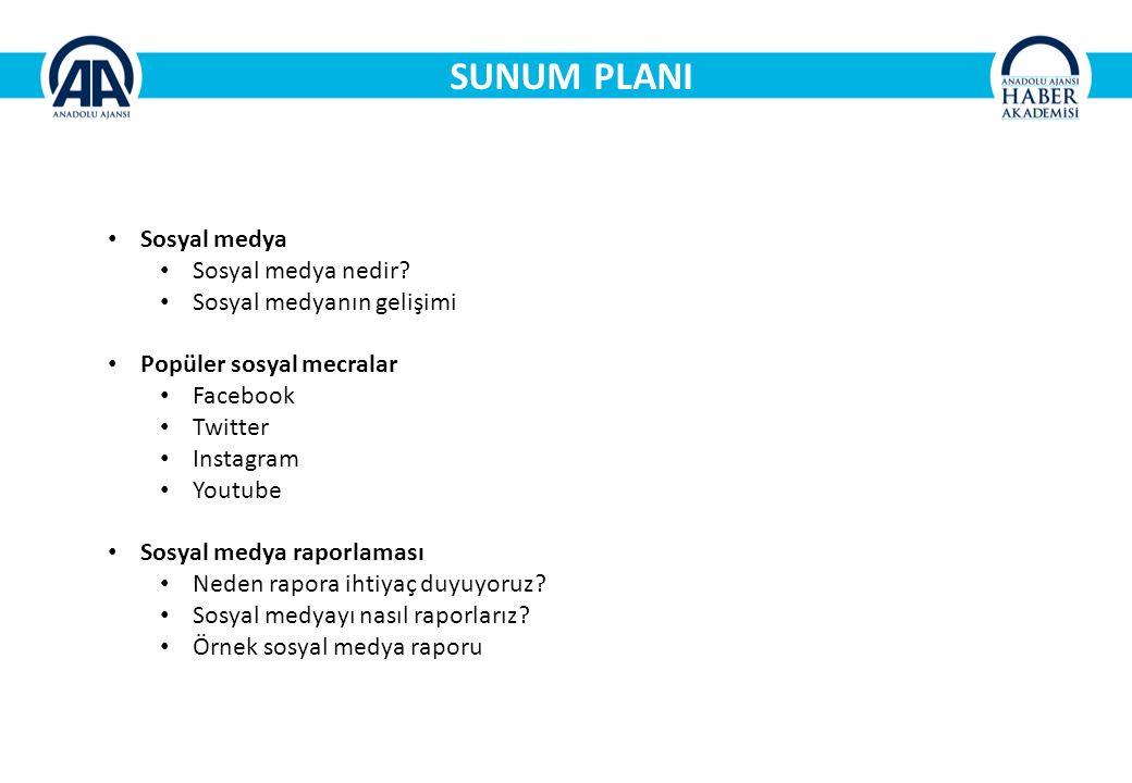 SUNUM PLANI Sosyal medya Sosyal medya nedir.