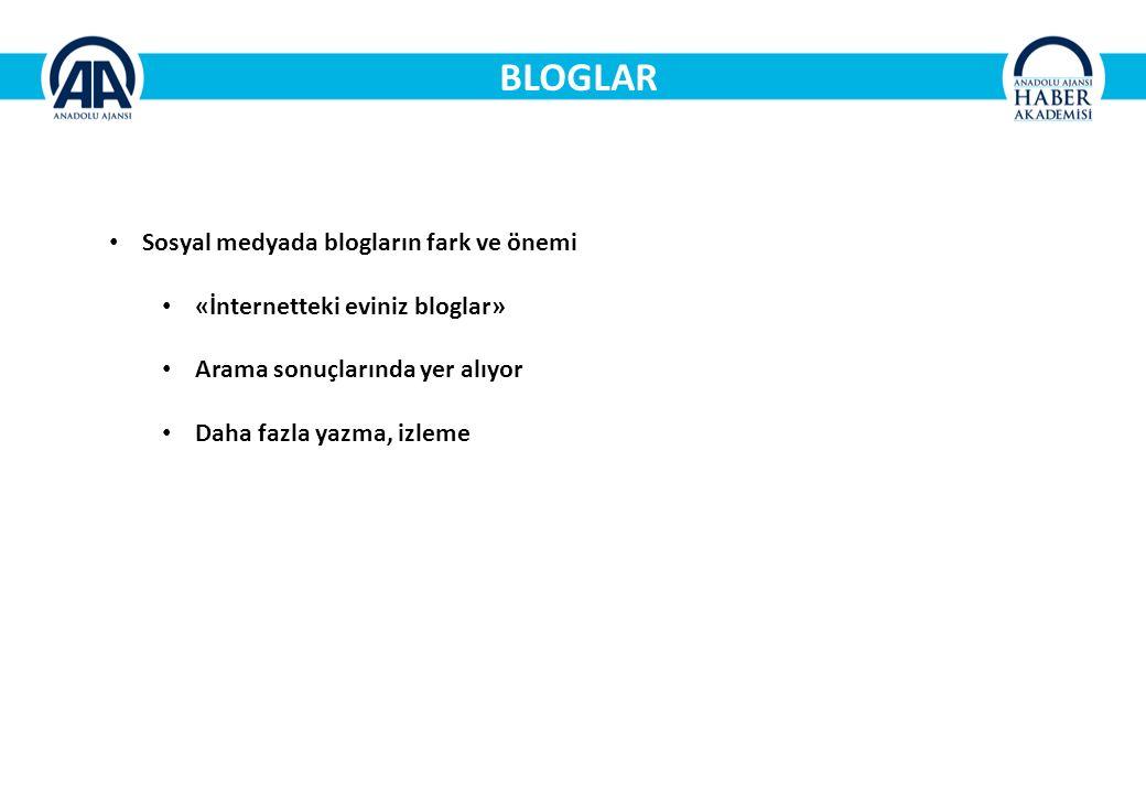 BLOGLAR Sosyal medyada blogların fark ve önemi «İnternetteki eviniz bloglar» Arama sonuçlarında yer alıyor Daha fazla yazma, izleme