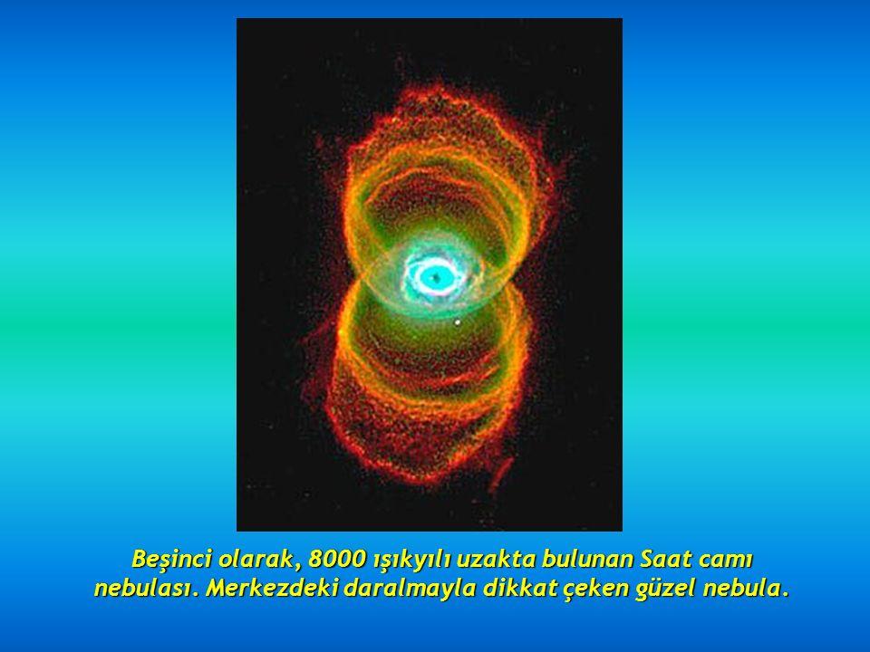 Dördüncü olarak, etkileyici Kedi Gözü nebulasını görüyoruz.