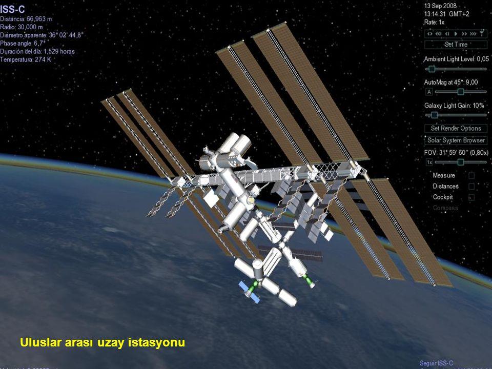 Hubble Uzay Teleskobu atmosferin dışına yerleştirilmiş bir robot teleskoptur.Deniz düzeyinden 593 kilometre yukarda dairesel bir yörünge çizer.Yörüngesel dönüşü 96-97 dakika sürüp, hızı saatte 28 000 km.dir.