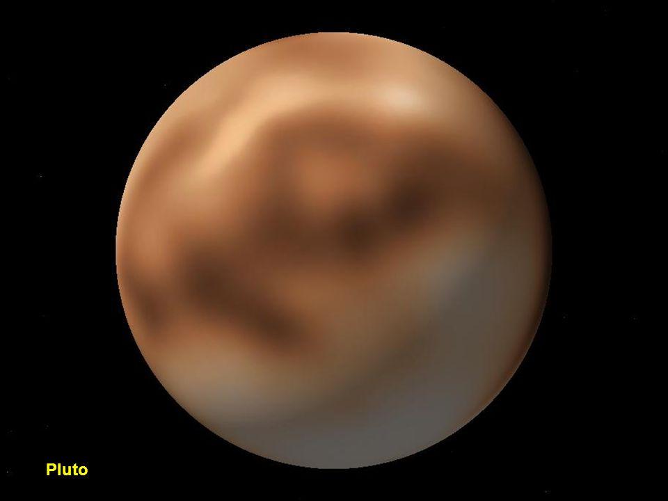 Neptün'ün yörüngesindeki Nereid ve Triton