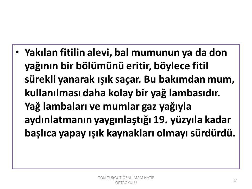 48 TOKİ TURGUT ÖZAL İMAM HATİP ORTAOKULU