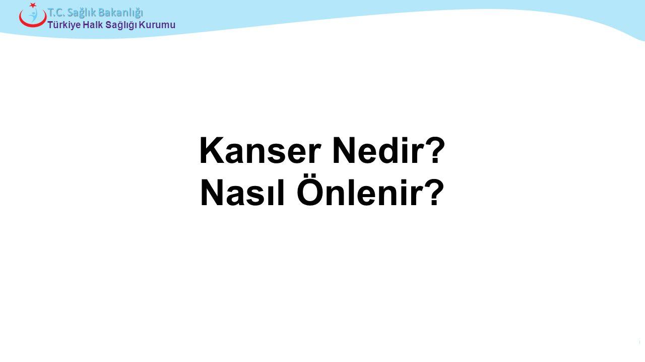 Çocuk ve Ergen Sağlığı Daire Başkanlığı Türkiye Halk Sağlığı Kurumu T.C. Sağlık Bakanlığı Kanser Nedir? Nasıl Önlenir?