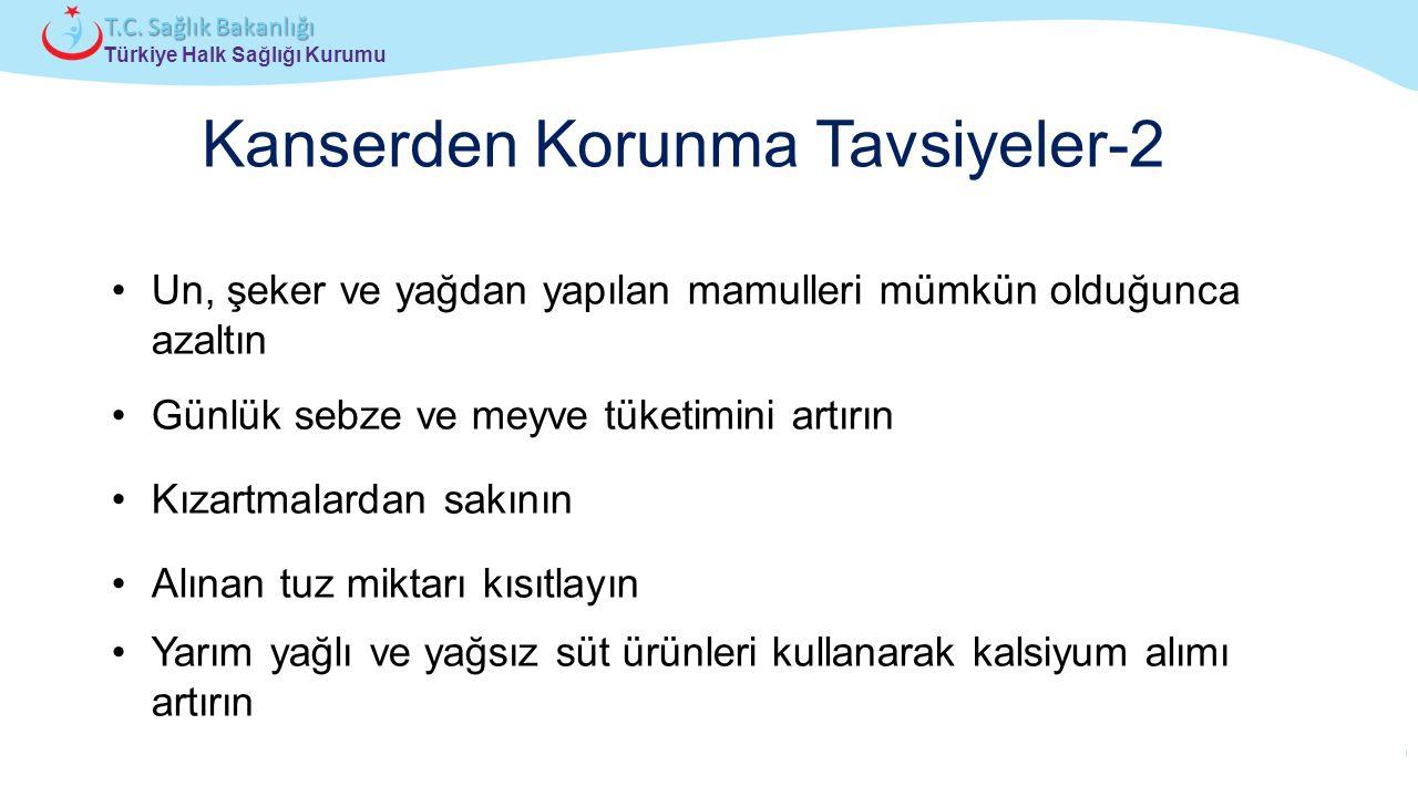 Çocuk ve Ergen Sağlığı Daire Başkanlığı Türkiye Halk Sağlığı Kurumu T.C. Sağlık Bakanlığı Un, şeker ve yağdan yapılan mamulleri mümkün olduğunca azalt