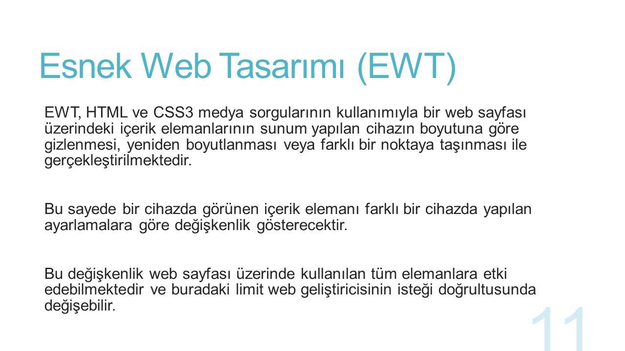 Esnek Web Tasarımı (EWT) 12