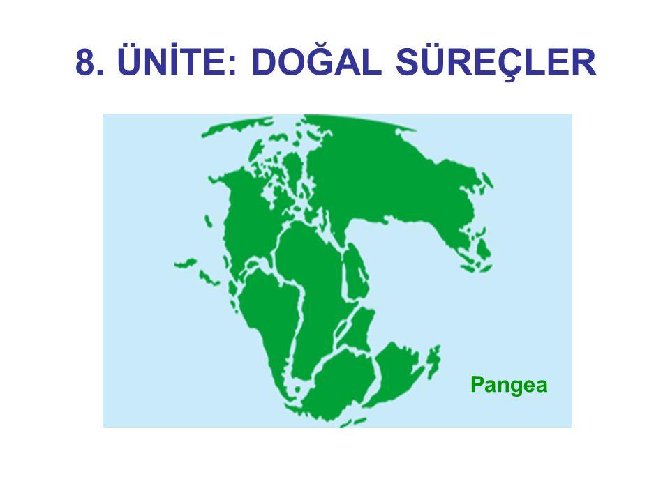 8. ÜNİTE: DOĞAL SÜREÇLER Pangea