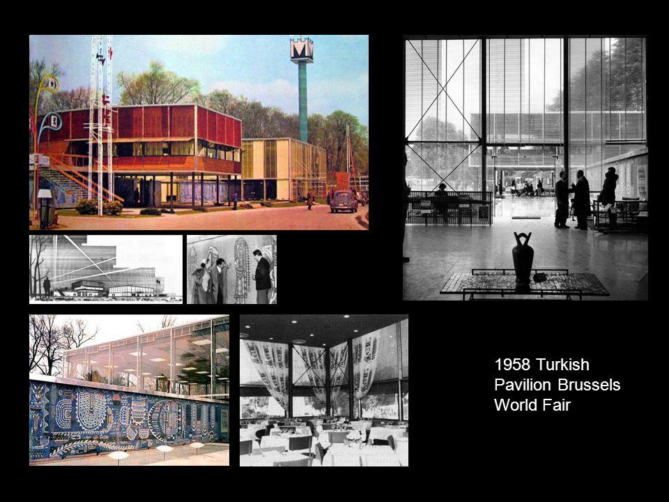 1958 Turkish Pavilion Brussels World Fair