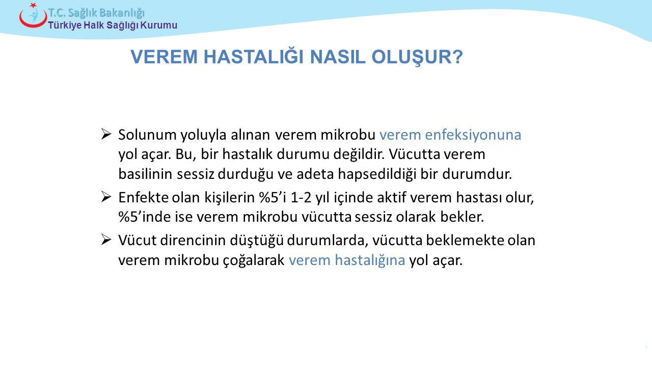 Çocuk ve Ergen Sağlığı Daire Başkanlığı Türkiye Halk Sağlığı Kurumu T.C. Sağlık Bakanlığı  Solunum yoluyla alınan verem mikrobu verem enfeksiyonuna y