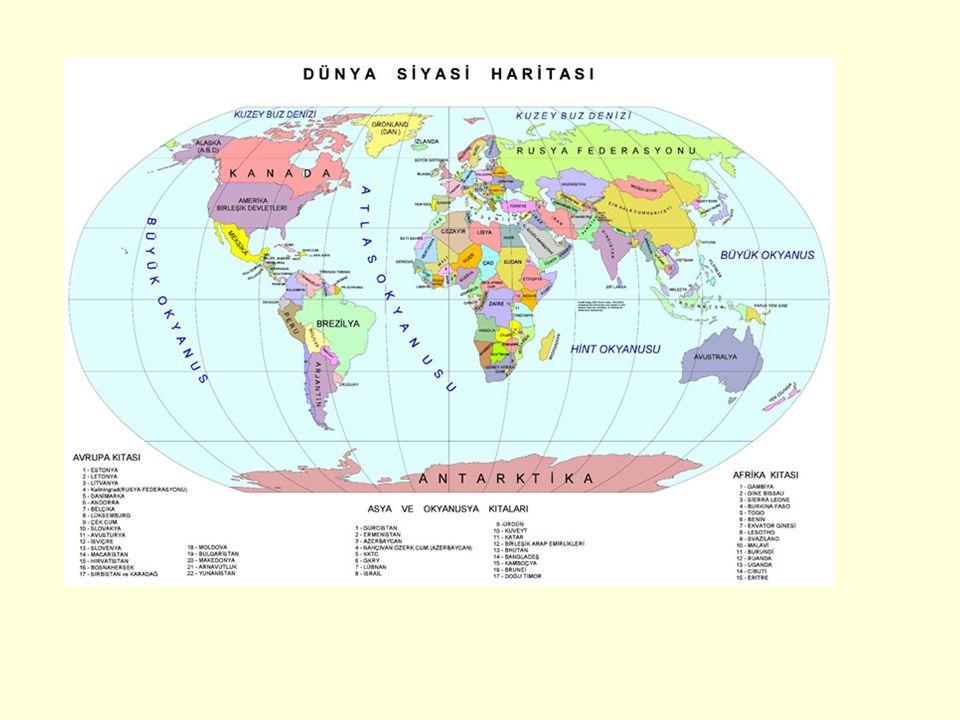 ASYA AMERİKA AFRİKA AVUSTRALYA AVRUPA ANTARTİKA(İnsansız tek kıta) ASYA AMERİKA AFRİKA AVUSTRALYA AVRUPA ANTARTİKA(İnsansız tek kıta) ANA KARALAR