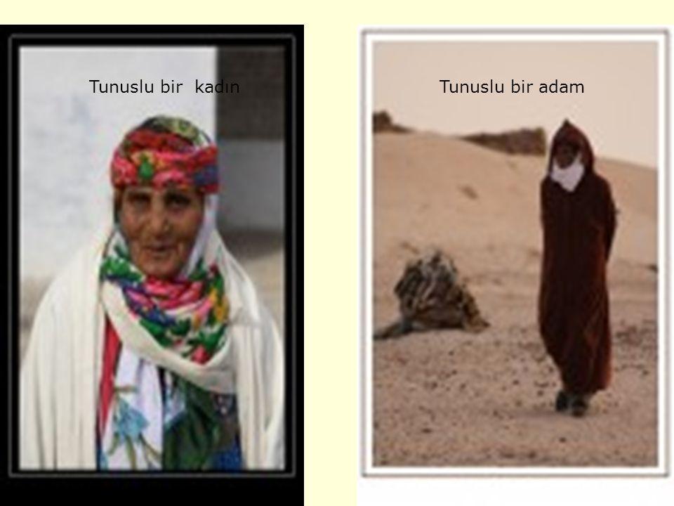 Tunusun yerel kıyafetleri