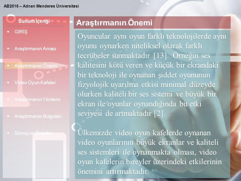Sunum İçeriği KAYNAKLAR [8] Horzum, M.