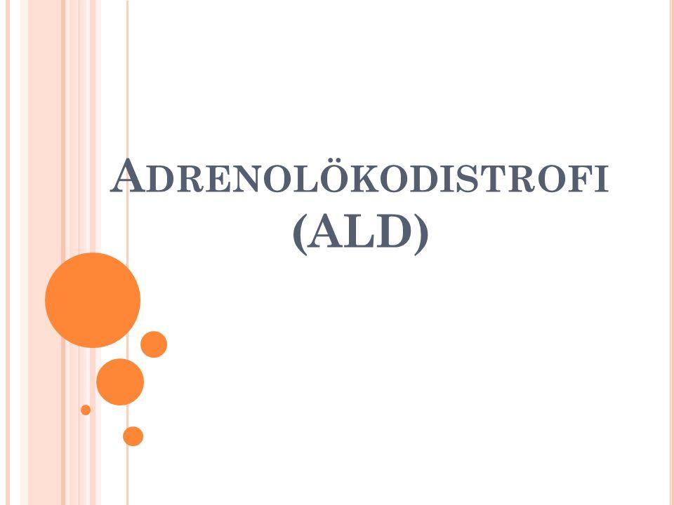 A DRENOLÖKODISTROFI (ALD)