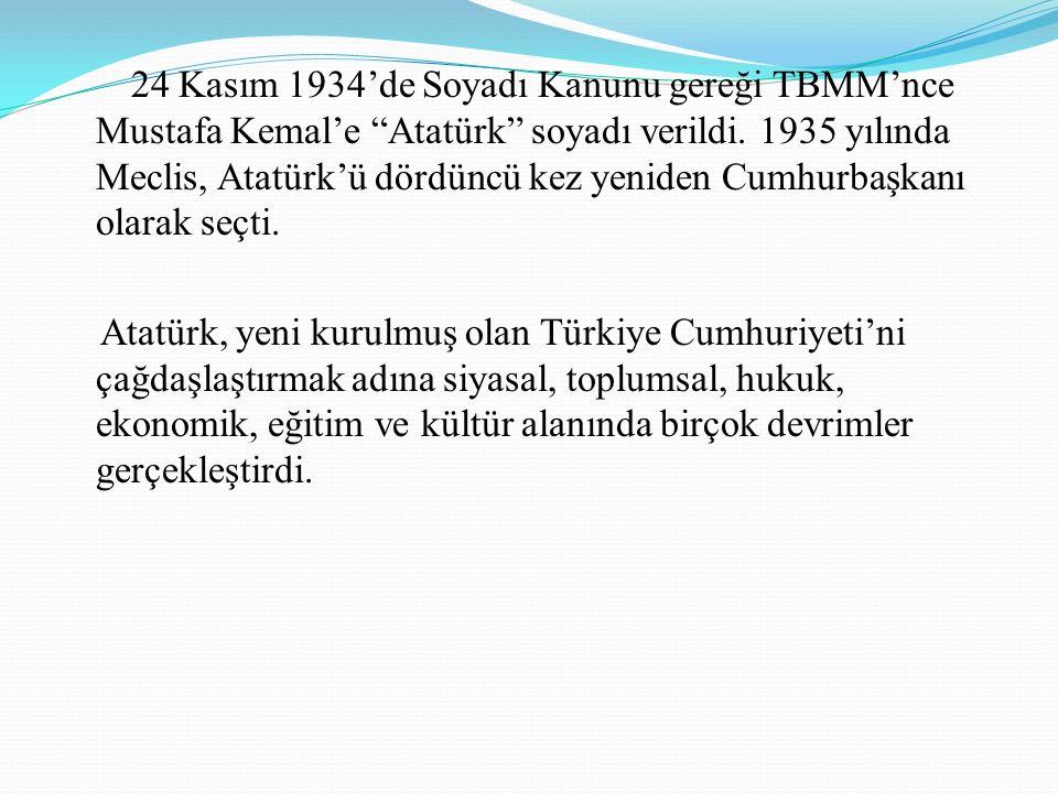 Kurtuluş Savaşı Ve Cumhuriyet Yılları 22 Haziran 1919 yılında Amasya Genelgesi'ni yayımladı. 23 Temmuz-7 Ağustos 1919 tarihleri arasında Erzurum, 4-11