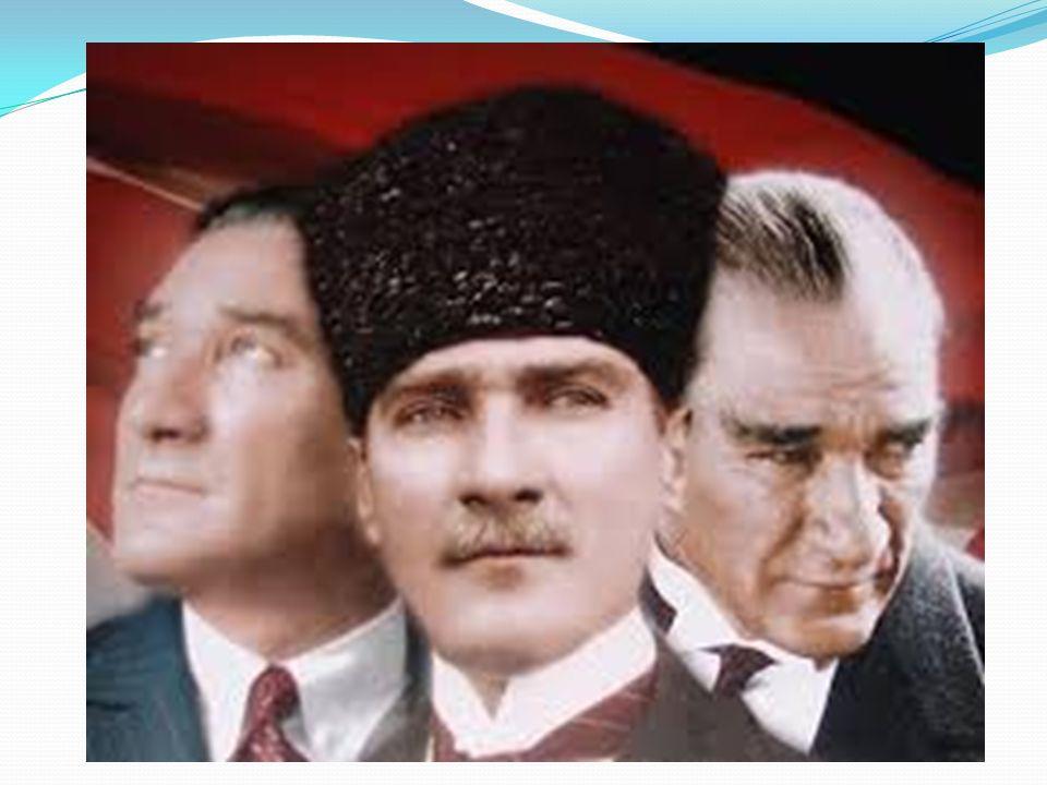 ATATÜRK'ÜN HAYATI İçindekiler ; *Atatürk'ün Okul Yılları *Atatürk'ün Askerlik Yılları *Kurtuluş Savaşı ve Cumhuriyet Yılları *Özel Yaşamı *Son Yılları