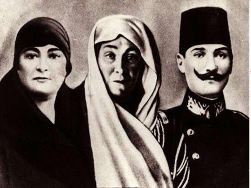 ATATÜRK VE AİLESİ Kurtuluş Savaşı'mızın önderi ve Türkiye Cumhuriyeti'nin kurucusu Gazi Mustafa Kemal Atatürk, 1881 yılında Selânik'te Kocakasım Mahal