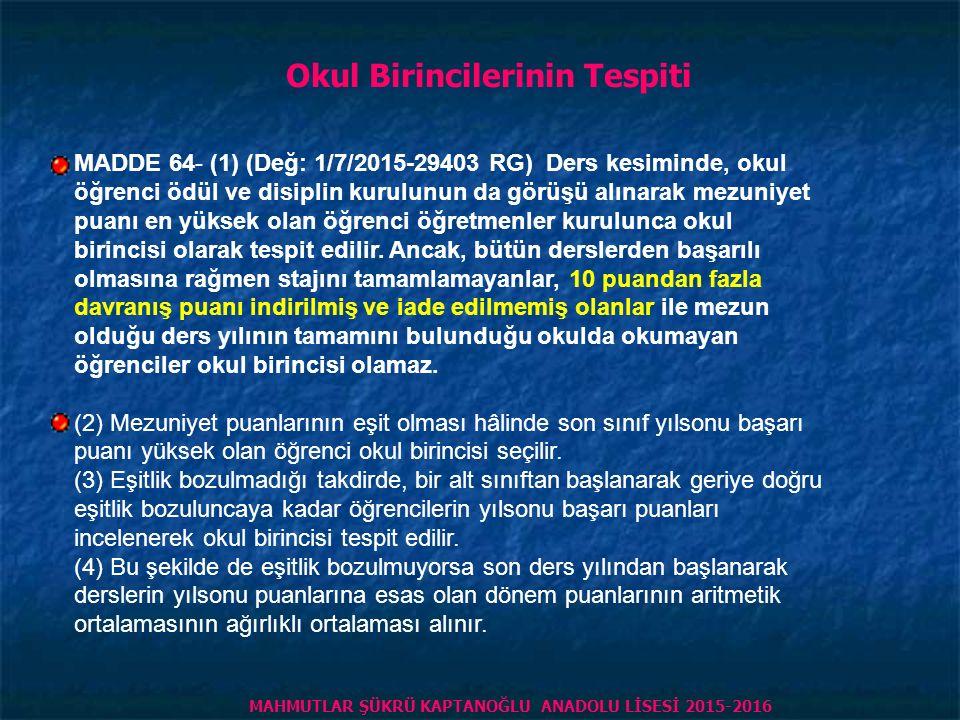 HAFTALIK DERS SAATİ ÖĞRENCİNİN 2.