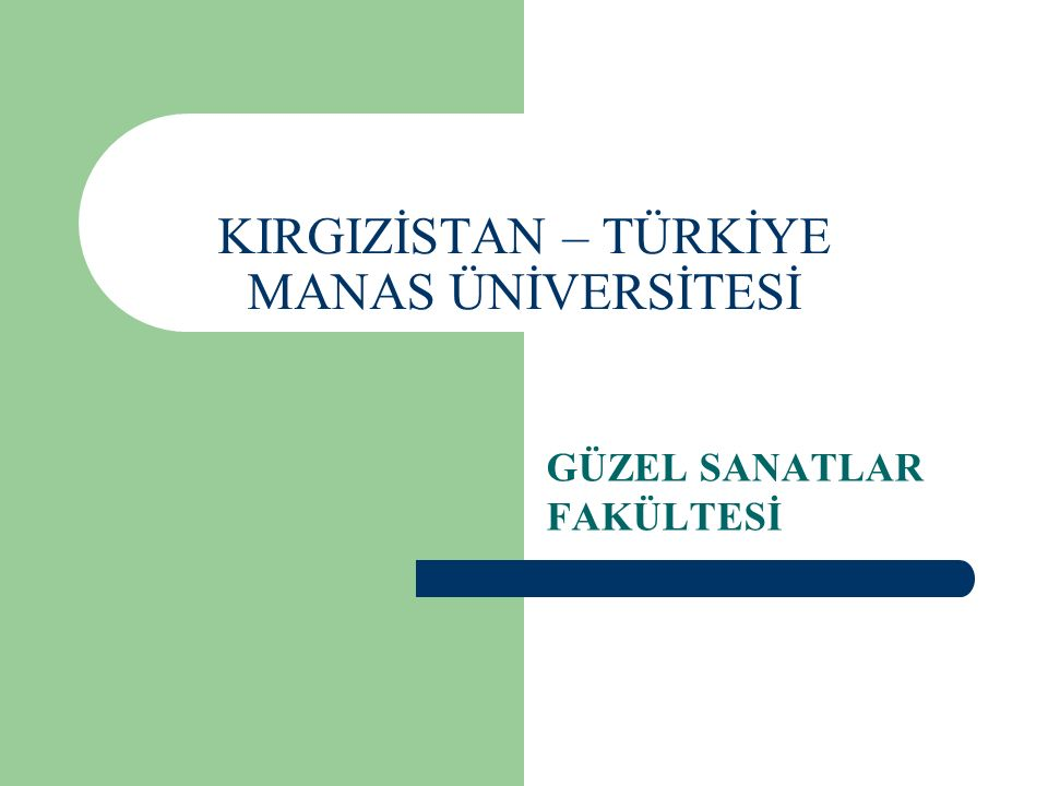 Misyon Zengin bir kültürel mirasa sahip olan Türk Dünyasının, sanat eğitimi veren kurumlarındaki eğitimin de buna paralel olması gerekir.