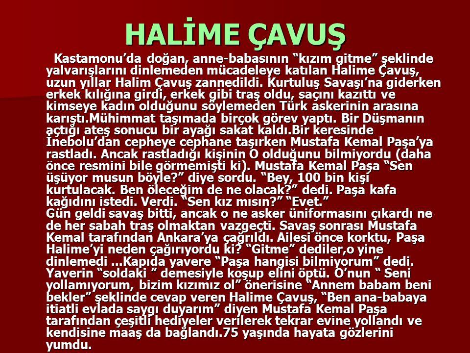 SULTAN HANIM Adana bölgesinde çarpışan partizan müfrezesi geçici olarak Toros Dağlarından geri çekilirken, Sultan Hanım da inekleriyle beraber onlara katılmış, çete dağda kaldıkça ineklerinin sütüyle onları beslemişti.