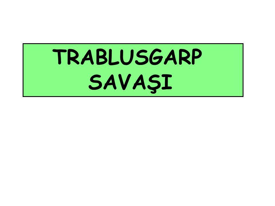 TRABLUSGARP SAVAŞI