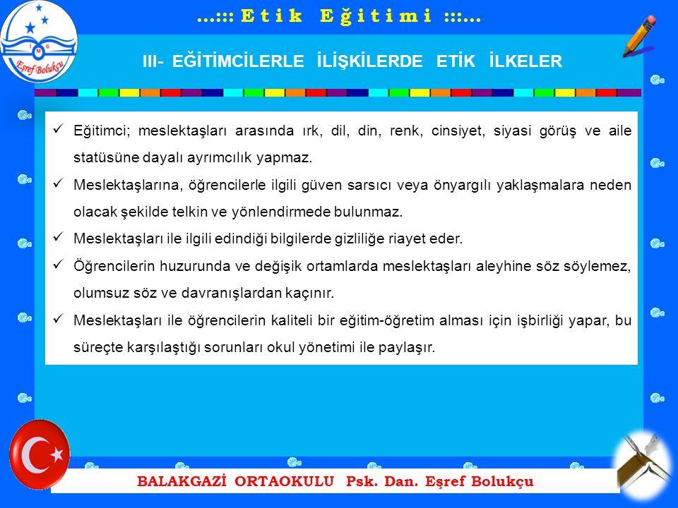 BALAKGAZİ ORTAOKULU Psk. Dan.