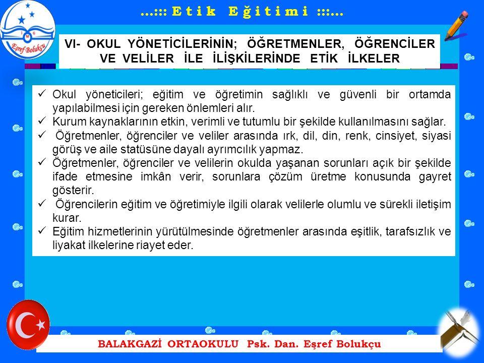 BALAKGAZİ ORTAOKULU Psk.Dan.