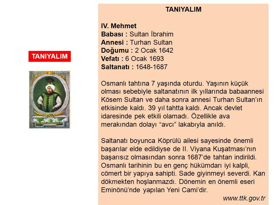 TANIYALIM IV.