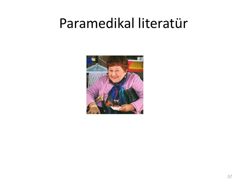 Paramedikal literatür 57