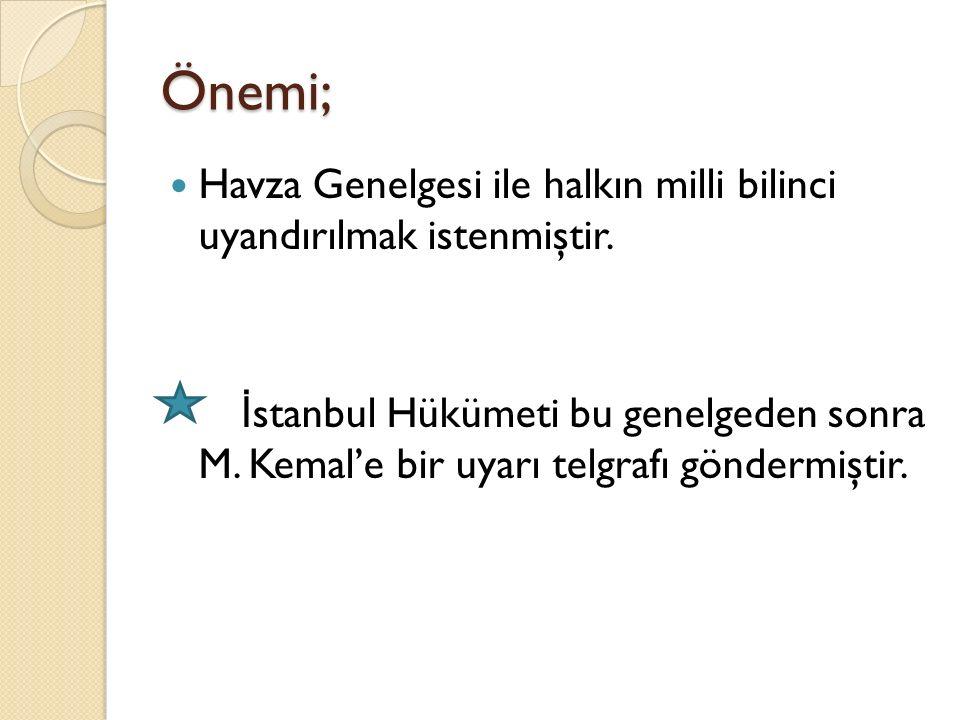 Bahriye Nazırı Salih Paşa ile Mustafa Kemal arasında yapılan görüşmelerdir.