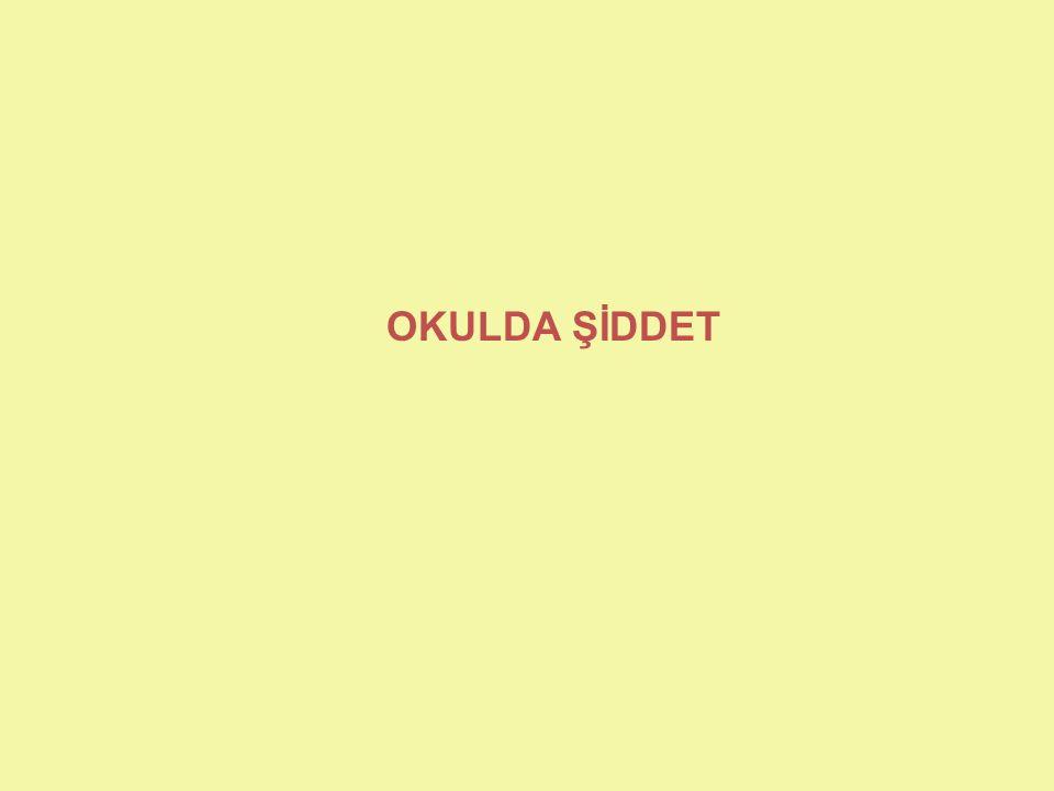 OKULDA ŞİDDET