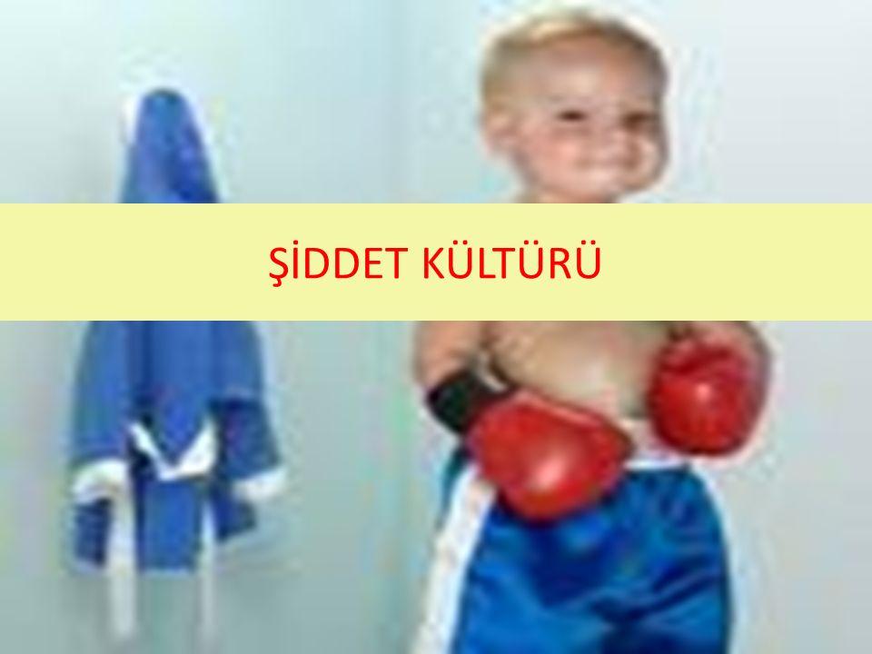 ŞİDDET KÜLTÜRÜ