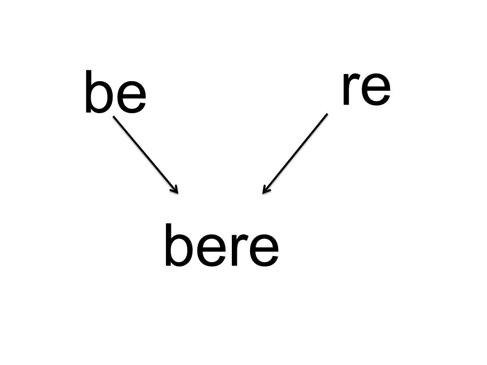 be re bere