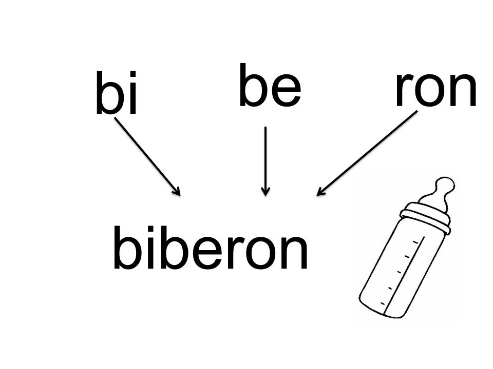 bi be biberon ron