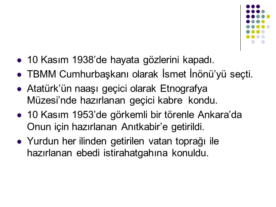 Atatürk milliyetçiliği birleştirici ve bütünleştiricidir.