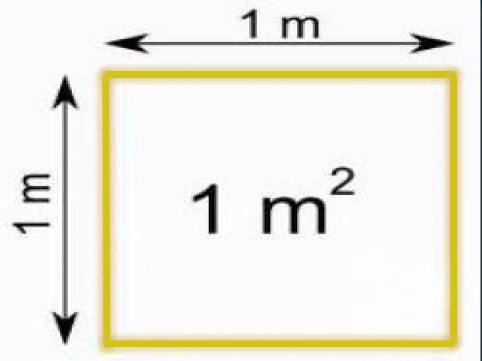 Alan ölçüleri hangi birime göre yazılacaksa o birimi gösteren tam sayı yazılır sonra sa ğ ına bir virgül konur.