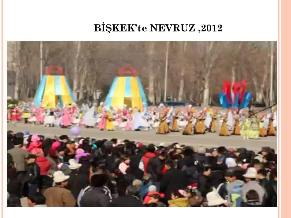 BİŞKEK'te NEVRUZ,2012