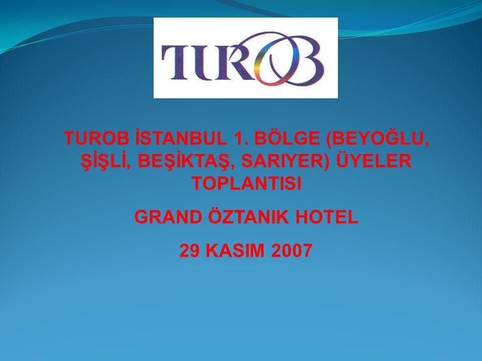 TUROB İSTANBUL 1.