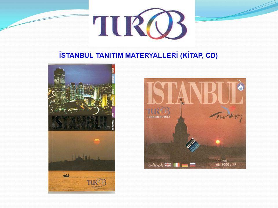 İSTANBUL TANITIM MATERYALLERİ (KİTAP, CD)