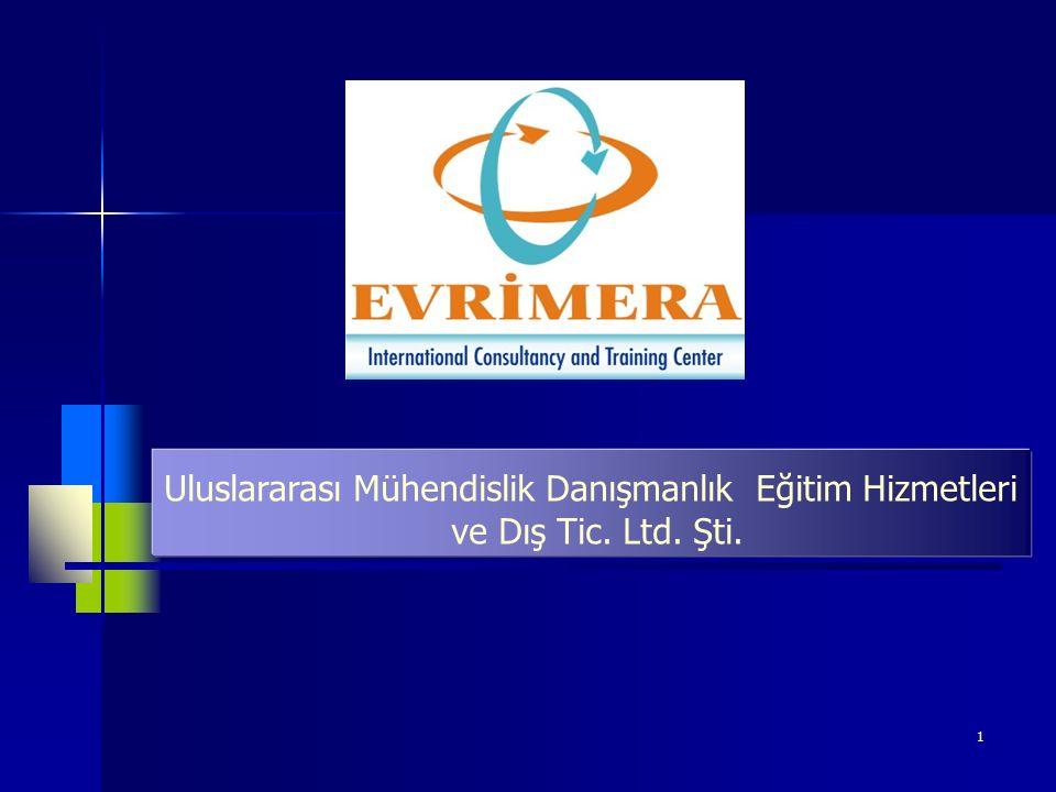 1 Uluslararası Mühendislik Danışmanlık Eğitim Hizmetleri ve Dış Tic. Ltd. Şti.