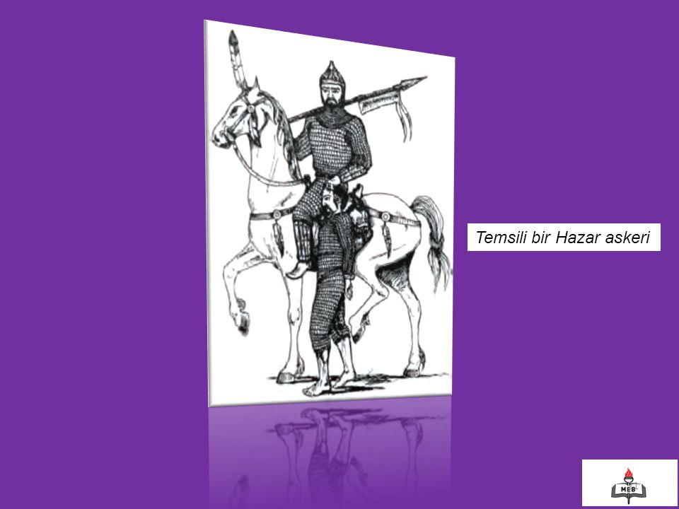 21 Temsili bir Hazar askeri