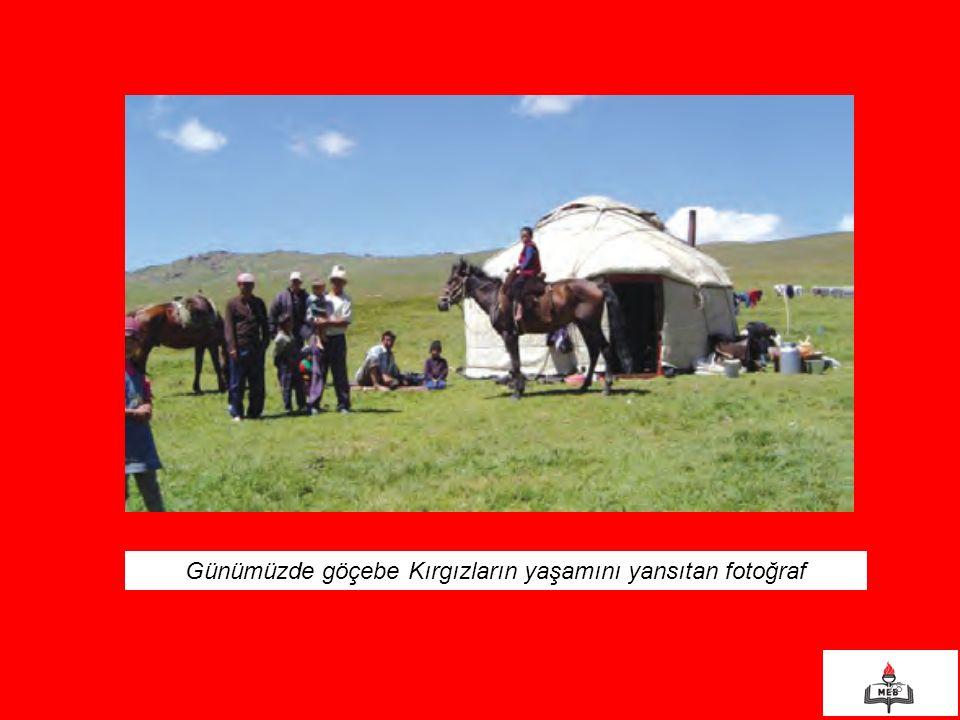 28 Günümüzde göçebe Kırgızların yaşamını yansıtan fotoğraf