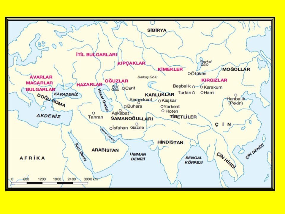 İLK TÜRK DEVLETLERİ Asya'da kurulanlarAsya ve Avrupa'da kurulanlar Avrupa'da kurulanlar Asya Hun DevletiHunlarAvrupa Hun Devleti GöktürklerAvarlar KutlukSibirlerPeçenekler UygurOğuzlarBulgarlar AkhunSibirler KırgızHazarlar TürgişKumanlar(Kıpçak) KarlukMacarlar Oğuzlar 4
