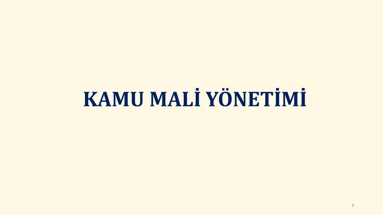 DIŞ DENETİM (md.68) Sayıştay, denetim raporları ve bunlara verilen cevapları dikkate alarak düzenleyeceği dış denetim genel değerlendirme raporunu Türkiye Büyük Millet Meclisine sunar.