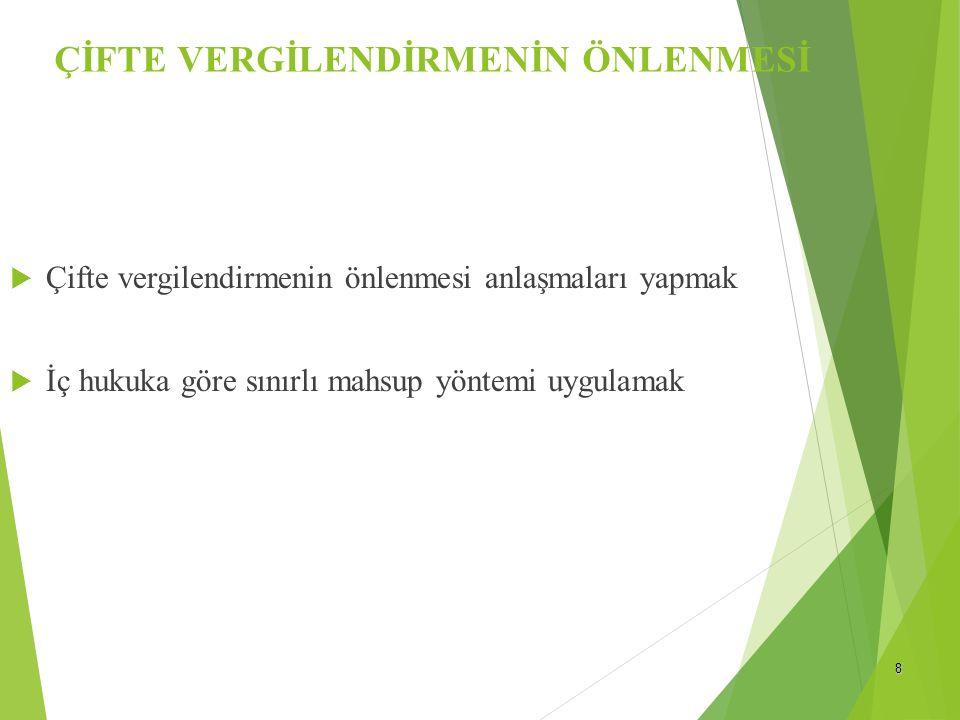 9 GELİR VERGİSİNDE MÜKELLEFLER  DAR MÜKELLEFLER  Türkiye'de Yerleşmiş Olmayan Gerçek Kişiler  Yabancı Uyruklu olanlar  6 aydan fazla yurt dışında oturumu olan Türk Vatandaşları  DAR MÜKELLEFLERİN VERGİLENDİRİLMESİ  Tam Mükelleflerle ilgili düzenlemeler dar mükellefler için de uygulanır.